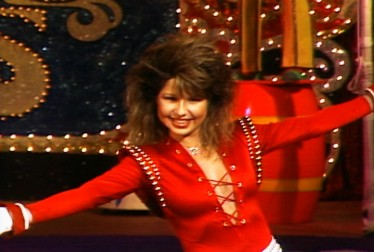 Pia Zadora Footage from Circus of the Stars
