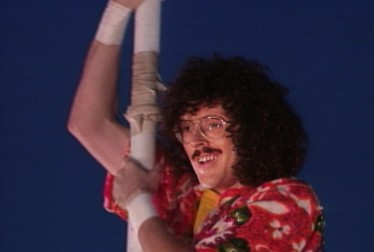 Weird Al Yankovich Footage from Circus of the Stars