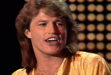 ANDY GIBB Footage from TopPop