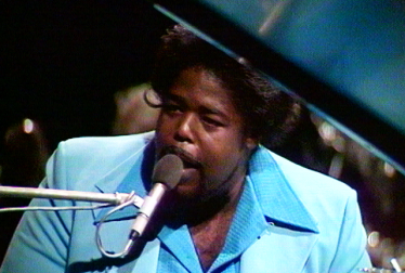 BARRY WHITE Footage from TopPop