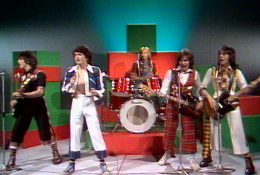 THE BAY CITY ROLLERS Footage from TopPop