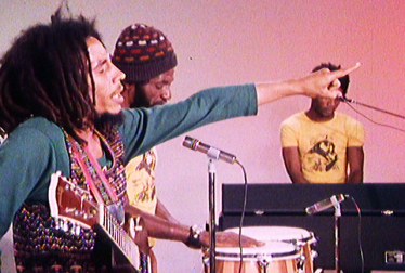 BOB MARLEY AND THE WAILERS Footage from TopPop