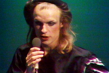 BRIAN ENO Footage from TopPop