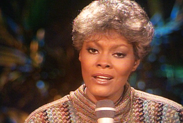 DIONNE WARWICK Footage from TopPop