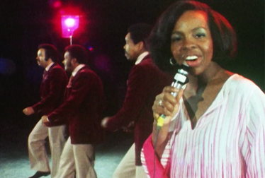 GLADYS KNIGHT AND THE PIPS Footage from TopPop