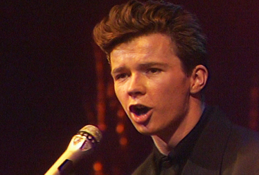RICK ASTLEY Footage from TopPop