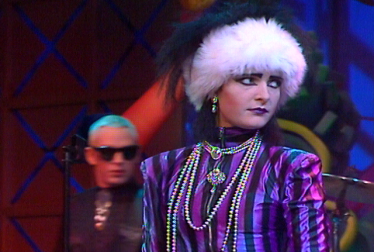 SIOUXSIE AND THE BANSHEES Footage from TopPop