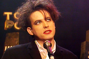 THE CURE Footage from TopPop
