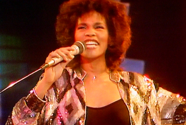 WHITNEY HOUSTON Footage from TopPop