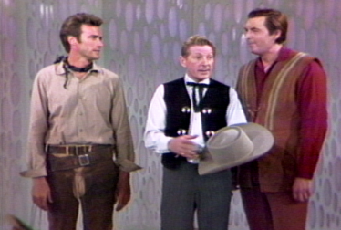 CLINT EASTWOOD Footage from Danny Kaye Show